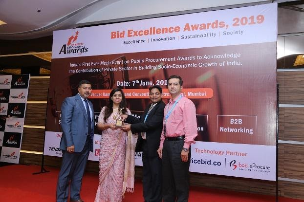 Best Company in Social Benefit Category (Services)