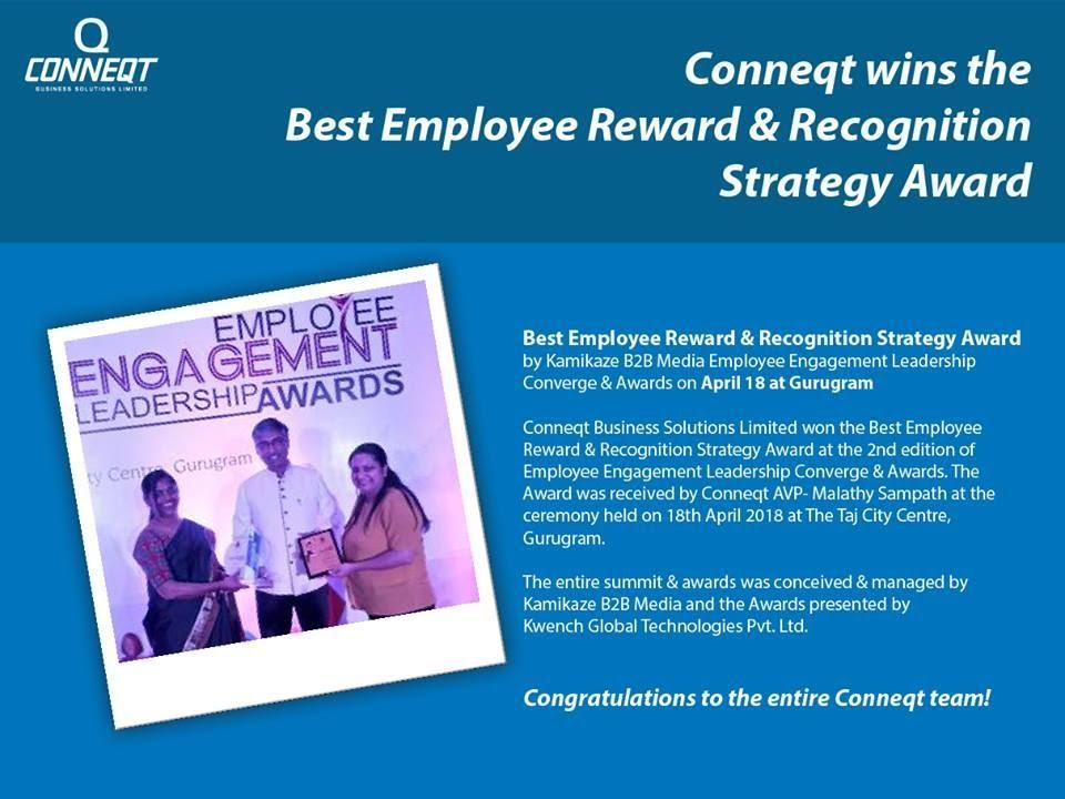 Best Employee Reward & Recognition Strategy Award