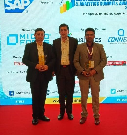 Business Intelligence Champion of the Year & Analytics Excellence Award