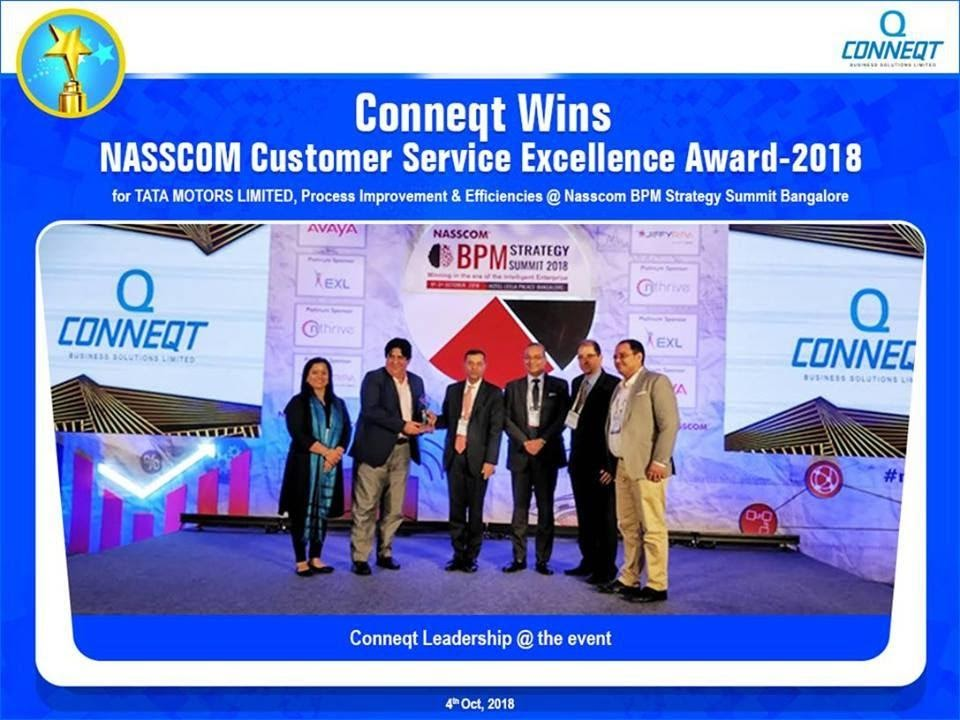NASSCOM Customer Excellence Award